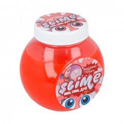 500 грамм SL-S500-1 Тянущийся слайм Slime Mega Mix, прозрачный + красный, 500 гр.