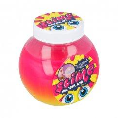 500 грамм SL-S500-5 Тянущийся слайм Slime Mega Mix, розовый + желтый, 500 гр.