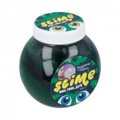 Слаймы SL-S500-6 Тянущийся слайм Slime Mega Mix черный + зеленый, 500 гр