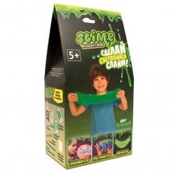 Лаборатория SL-SS100-4 Тянущийся слайм Slime набор Лаборатория, зеленый, 100 гр