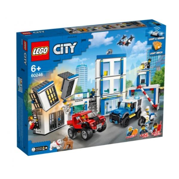 60246 Конструктор LEGO City 60246 Полицейский участок