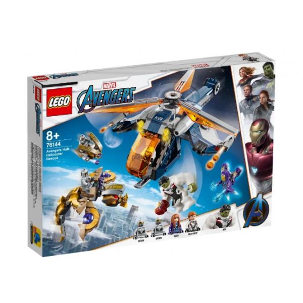 Набор Лего Конструктор LEGO Marvel Super Heroes 76144 Мстители: Спасение Халка на вертолёте