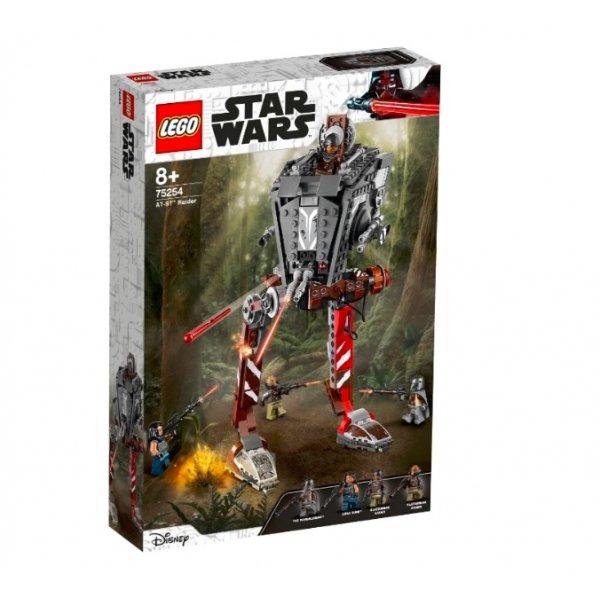 Набор Лего Конструктор LEGO Star Wars 75254 Episode IX Диверсионный AT-ST