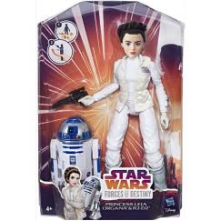 Star Wars Набор фигурок C1629/C1627 Princess Leia Organa
