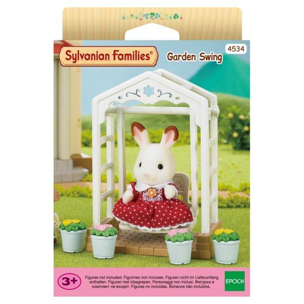Мебель и аксессуары 4534 Игровой набор Sylvanian Families Садовые качели