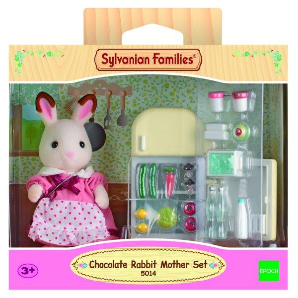 5014/2202 5014/2202 Sylvanian Families Мама кролик и холодильник