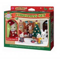 2225 Игровой набор Sylvanian Families Рождественский праздник