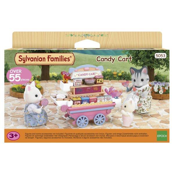2812/5053 Игровой набор Sylvanian Families Тележка со сладостями 2812/5053