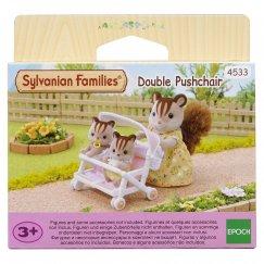 4533/2920 Sylvanian Families Коляска для двойни