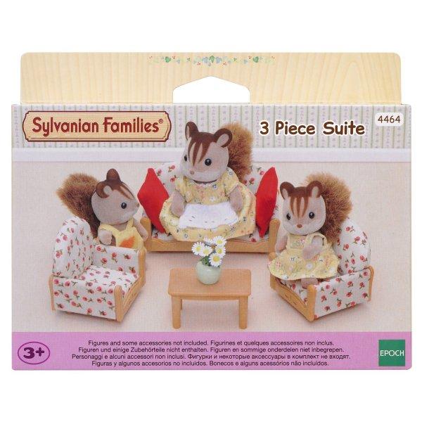 2922/4464 Набор мягкой мебели Sylvanian Families для гостиной