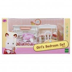 5032/2953 Набор Sylvanian Families Детская комната, бело-розовая