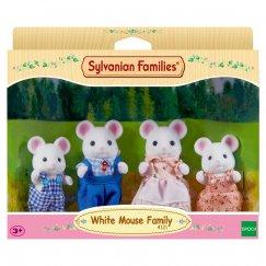 3111 Фигурки Sylvanian Families Семья белых мышей