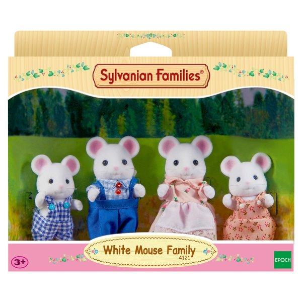 Семейки жителей Набор Sylvanian Families Семья Белых Мышей