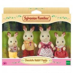 3125/4150 Sylvanian Families Семья шоколадных кроликов
