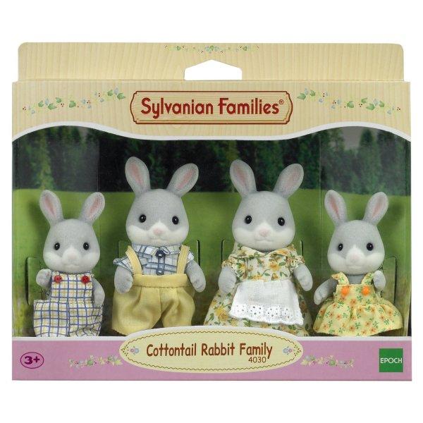 Семейки жителей 3134 Набор Sylvanian Families Семья Серых Кроликов