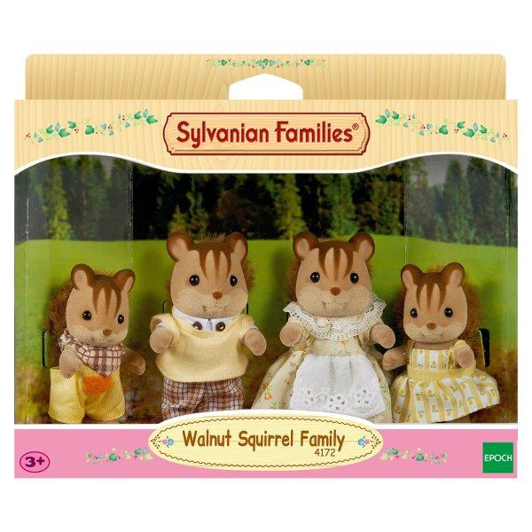 Семейки жителей 3136/4172 Sylvanian Families Семья белок 3136/4172