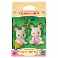 3217/5080 Sylvanian Families Шоколадные кролики-двойняшки