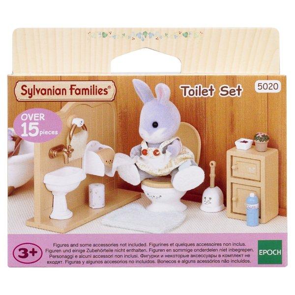 Комнаты 3563/5020 Sylvanian Families Туалетная комната 3563/5020