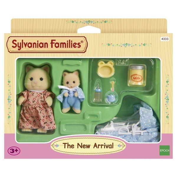 4333 4333 Игровой набор Sylvanian Families Мама с малышом и колыбелькой