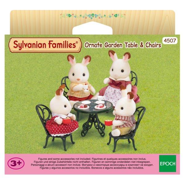 4507/2242 4507/2242 Игровой набор Sylvanian Families Мебель для сада