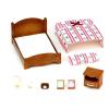 5019/2934 5019/2934 Игровой набор Sylvanian Families Большая кровать и тумбочка