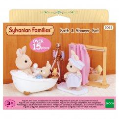Комнаты 5022 Игровой набор Sylvanian Families Ванная комната мини