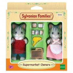 5052/2813 Игровой набор Sylvanian Families Владельцы супермаркета