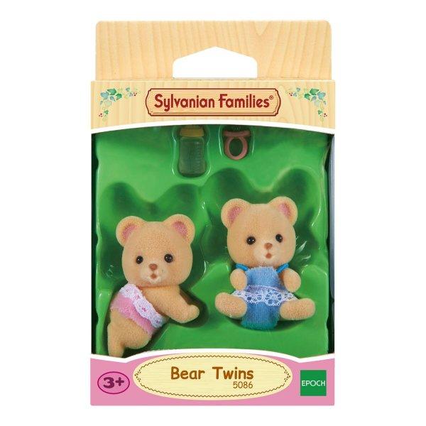 5086 Игровой набор Sylvanian Families Мишки-двойняшки 3243/5086