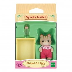5186 Игровой набор Sylvanian Families Малыш Полосатый котёнок
