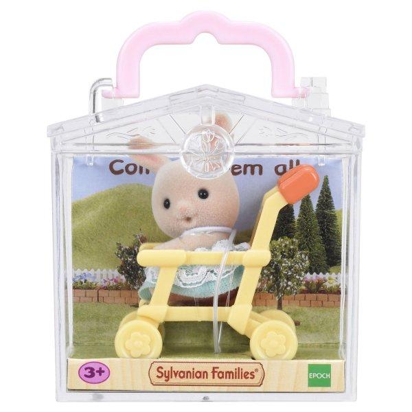 Малыши 5200 Игровой набор Sylvanian Families Младенец в сундучке