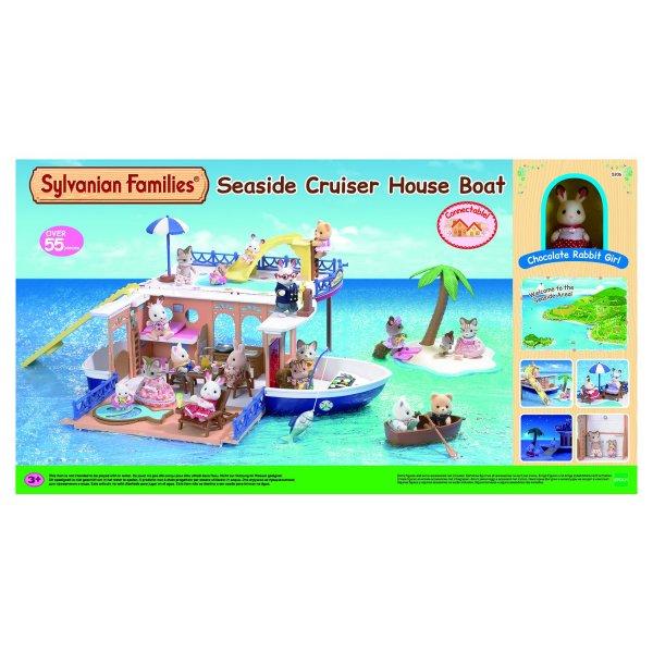 Морское путешествие 5206 Игровой набор Sylvanian Families Круизный корабль 5206