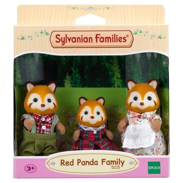 Семейки жителей 5215 Набор Sylvanian Families Семья Красных панд, 3 фигурки