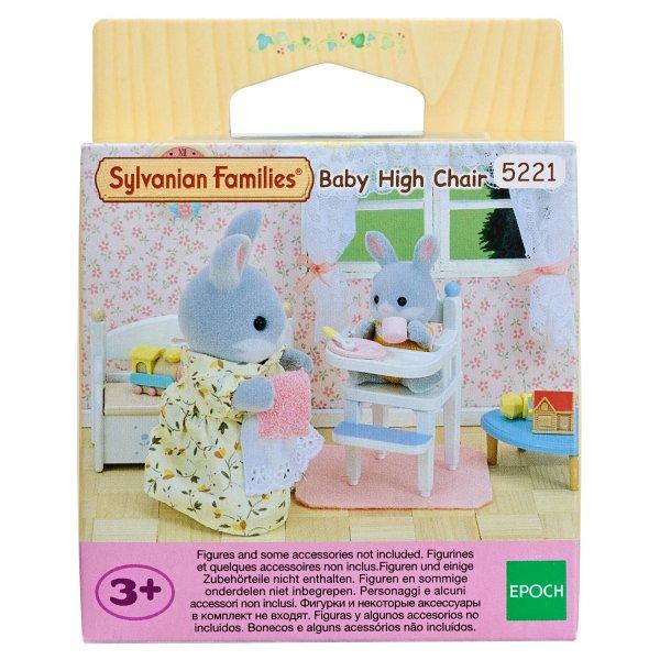 5221 Sylvanian Families Стульчик для кормления малыша 5221