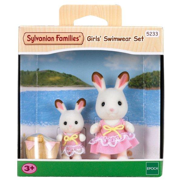 5233 Игровой набор Sylvanian Families Кролики в купальных костюмах 5233