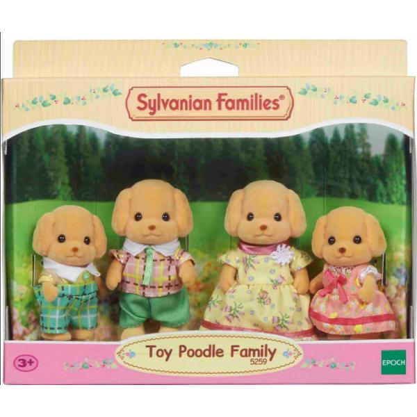 Семейки жителей 5259 Sylvanian Families Семья той-пуделей 5259