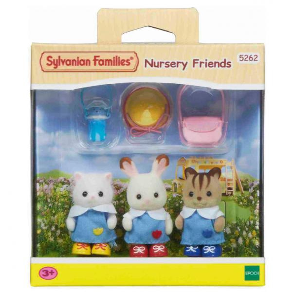 Детский сад 5262 Игровой набор Sylvanian Families Друзья в детском саду 5262