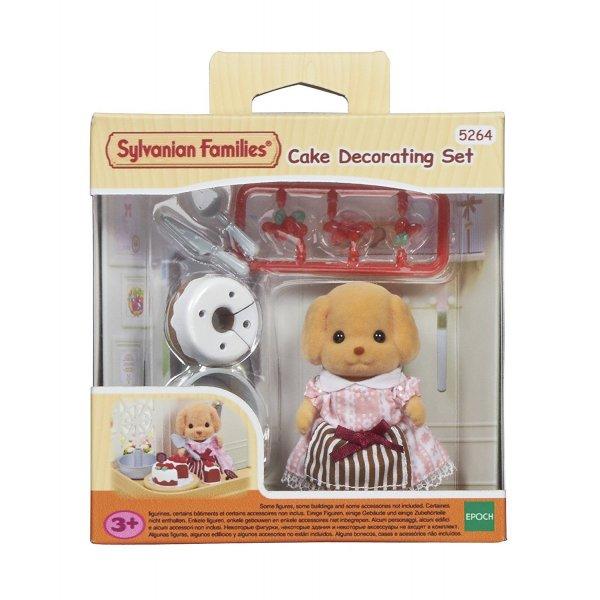 5264 5264 Игровой набор Sylvanian Families украшения тортиков