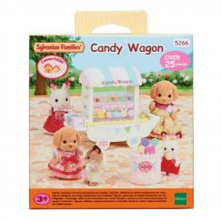 5266 Игровой набор Sylvanian Families Тележка с конфетами