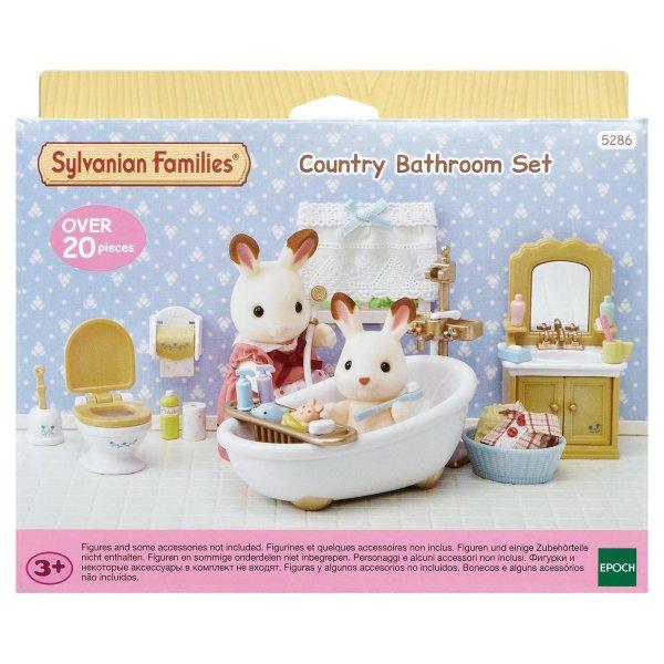 Комнаты 5286 Игровой набор Sylvanian Families Мебель для ванной комнаты