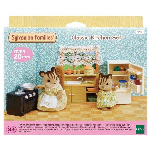 Комнаты 5289 Sylvanian Families Кухня и холодильник