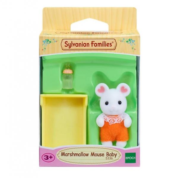 Малыши 5336 Игровой набор Сулвания Фемели Малыш Зефирный мышонок Sylvanian Families 5336