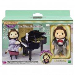 6011 Sylvanian Families Концерт с роялем