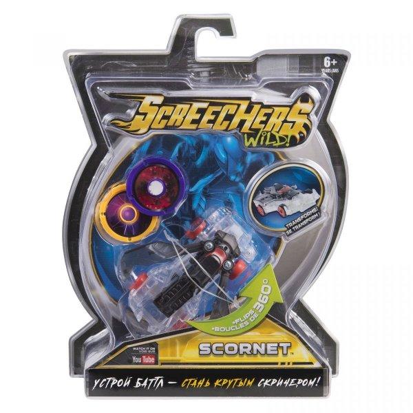 35885 Интерактивная игрушка трансформер РОСМЭН Дикие Скричеры. Линейка 1. Скорнет (35885)