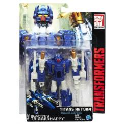 TRANFORMERS C0273 Трансформер Hasbro Transformers Треггераффи. Войны Титанов Дэлюкс (Трансформеры Дженерейшнс)