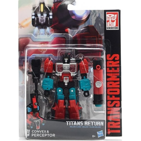 B7762 (C1092) Игровой набор CONVEX & PERCEPTOR серия TITANS RETURN на блистере
