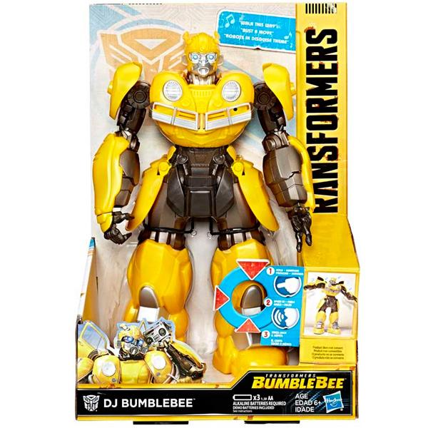 Трансформеры E0850 Hasbro Transformers E0850 Трансформеры Фигурка Бамблби ДИ ДЖЕЙ