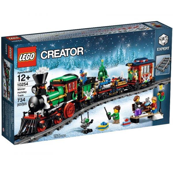LEGO Creator 10254 Новогодний поезд
