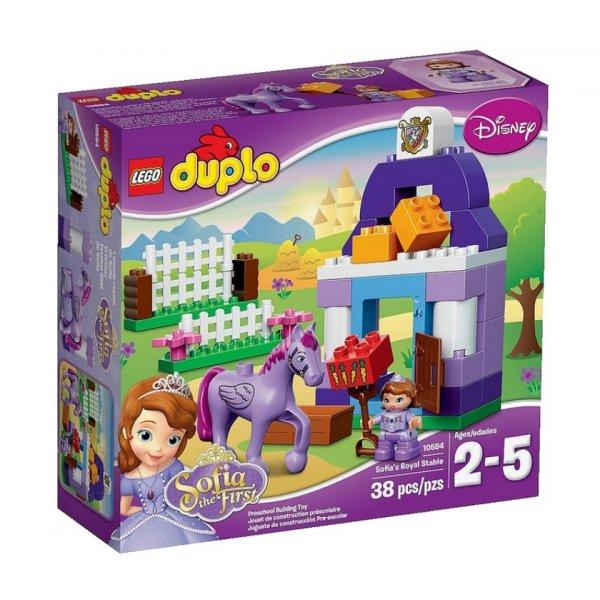 Набор Лего LEGO DUPLO 10594 Королевская конюшня Софии Прекрасной
