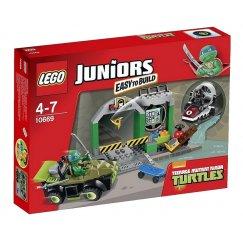 LEGO Juniors 10669 Логово черепашек