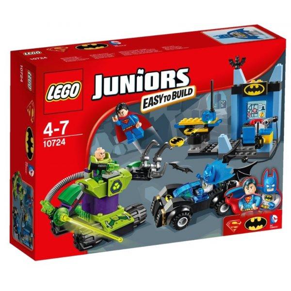 LEGO Juniors 10724 Бэтмен и Супермен против Лекса Лютора